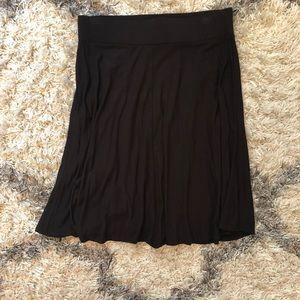 Loft Black Skirt, Size XS